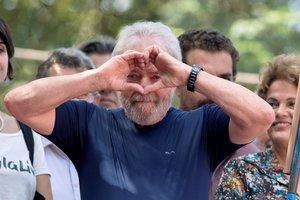 Lula fue condenado en primera instancia a nueve años y seis meses de cárcel en julio de 2017.