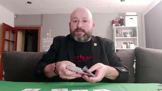 El mago-loguista Vincent Vegas