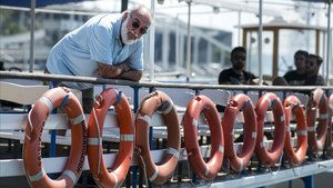 Manel Roca,copropietario y gerente de Las Golondrinas recientemente jubilado tras 50 años al frente,en cubierta de uno de los tradicionales barcos.