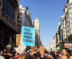 El 2019 Madrid va respirar el millor aire de la dècada gràcies al veto al cotxe