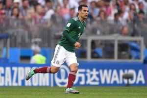 Márquez, en el partido contra Alemania.