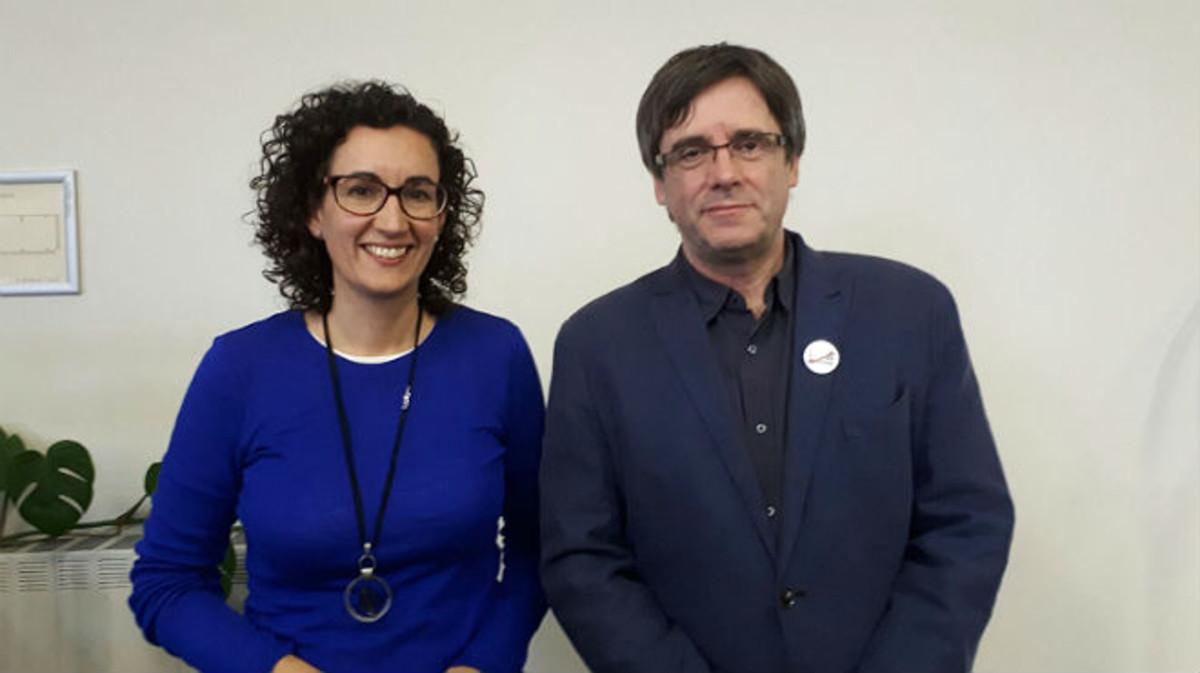 Puigdemont ofereix a Marta Rovira ser la número dos del Govern