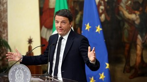 Itàlia castiga a les urnes Renzi, que anuncia la seva dimissió