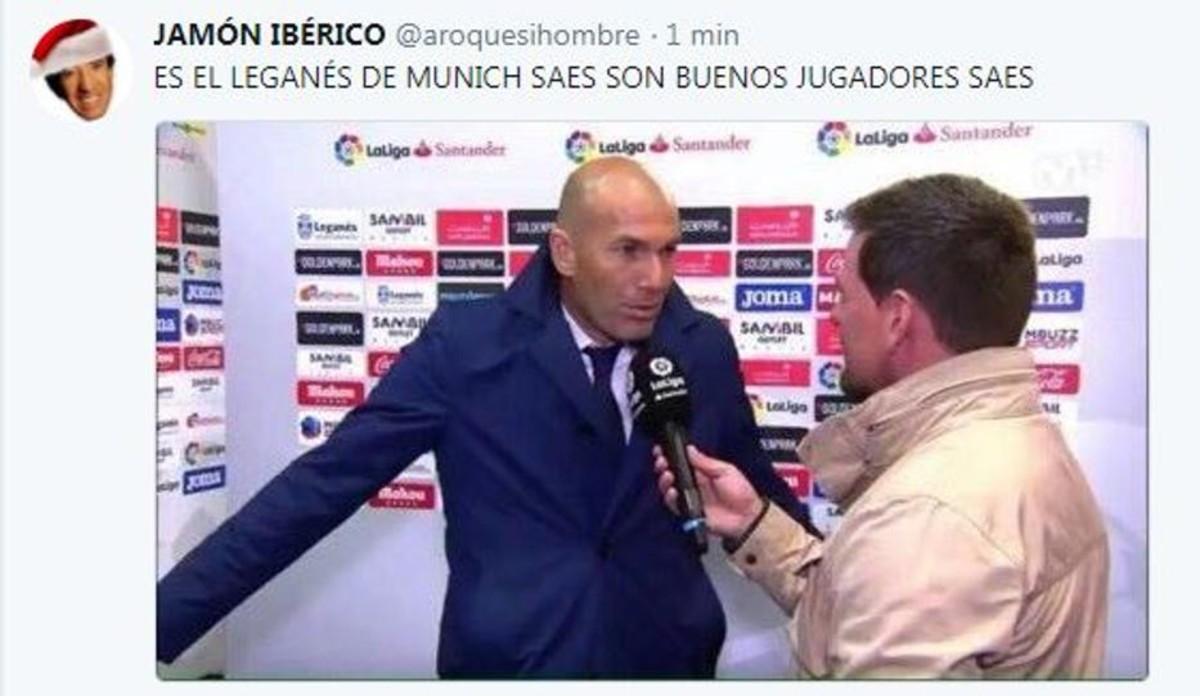 Meme sobre Zidane.
