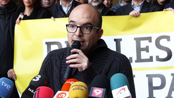 Joan Coma ha enviado un mensaje de voz desde el furgón policial, camino de Madrid, tras su detención.