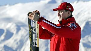 Michael Schumacher, a Madonna di Campiglio (Itàlia), el 2003.