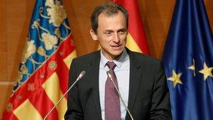 El ministro de CienciaInnovación y Universidades, Pedro Duque, el pasado día 25, en Valencia.