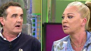 """Montero se engancha con Belén Esteban por un comentario sobre su mujer: """"De ti puedo hablar lo más grande"""""""