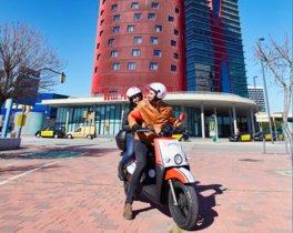 L'Hospitalet posa en marxa un servei de motos compartides