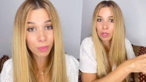 Natalia en el último vídeo que ha colgado en su cuenta de Instagram.