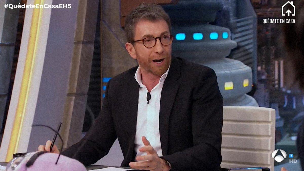 Pablo Motos desvela en 'El hormiguero' el político con el que no pasaría la cuarentena