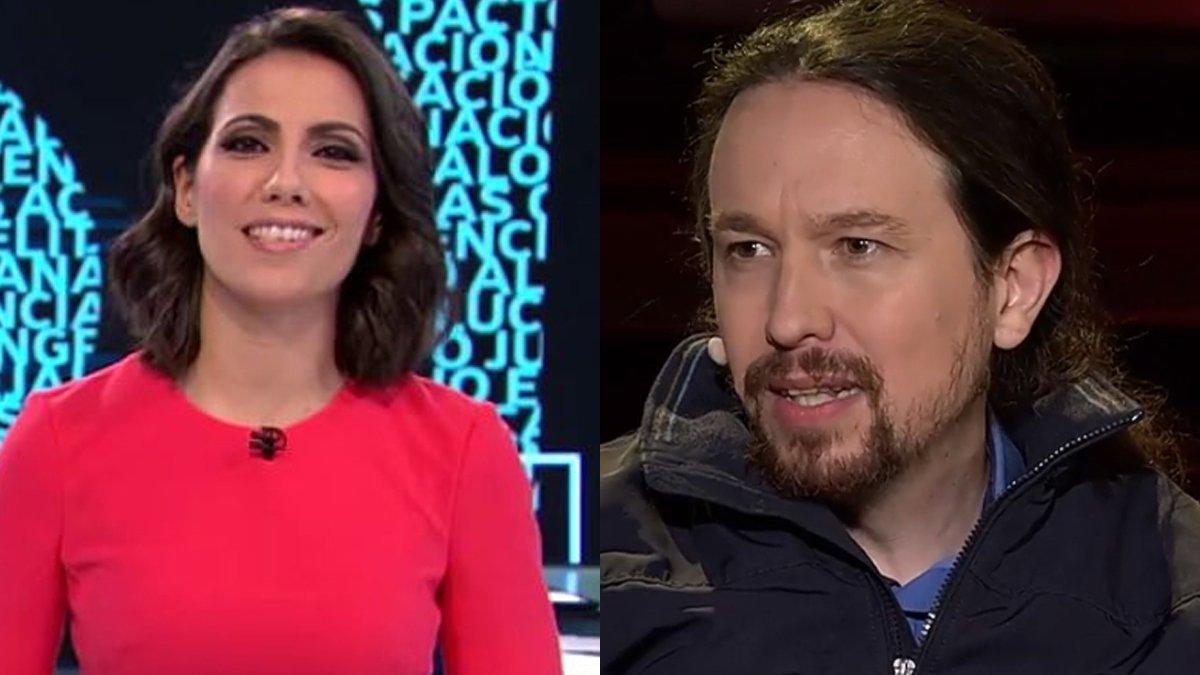 Ana Pastor y Pablo Iglesias.