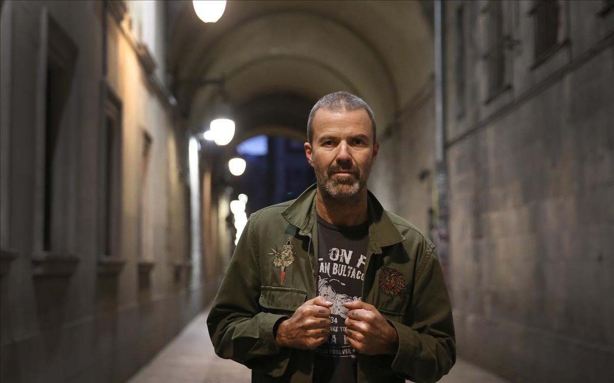 Pau Donés, en Barcelona, el mes pasado.