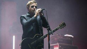 Paul Banks, en el concierto de Interpol en el Primavera Sound