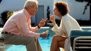 Paul Newman y Susan Sarandon, en una escena de 'Al caer el sol'.