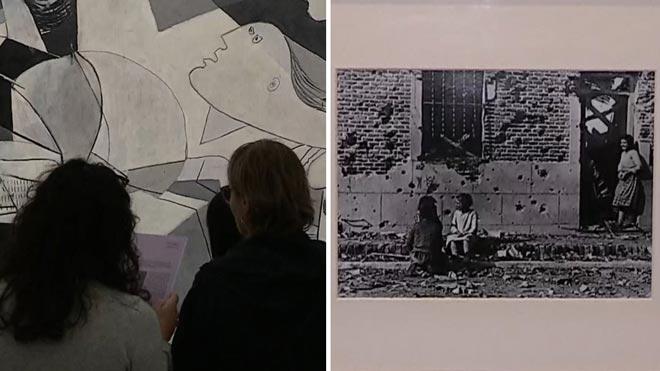 Picasso y Capa, un diálogo antifascista en el Museo Reina Sofía.