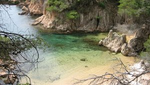 Playa de la Costa Brava, en Girona