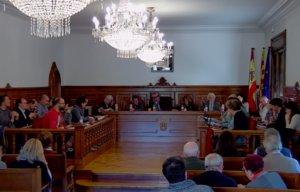 Presentación del informe del Síndic en el Pleno extraordinario de Cornellà de este lunes
