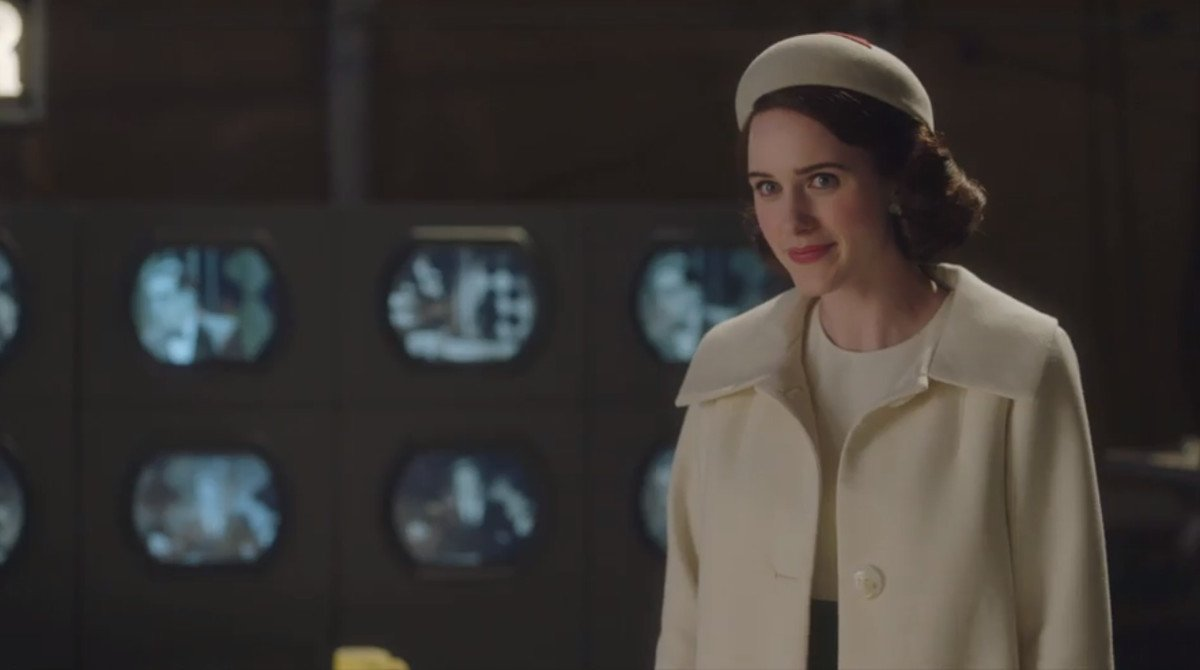 Rachel Brosnahan, en la segunda temporada de 'The marvelous Mrs Maisel'.