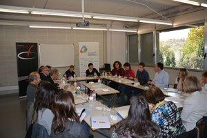 Reunión de la Mesa de la formación para el trabajo del Pacto por la Reindustrialización del Vallès Occidental en Rubí
