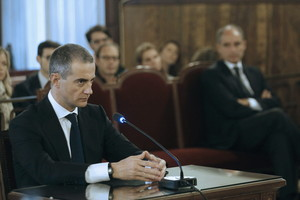 Ricardo Costa, en un juicio por presunta corrupción en la Comunidad Valenciana.