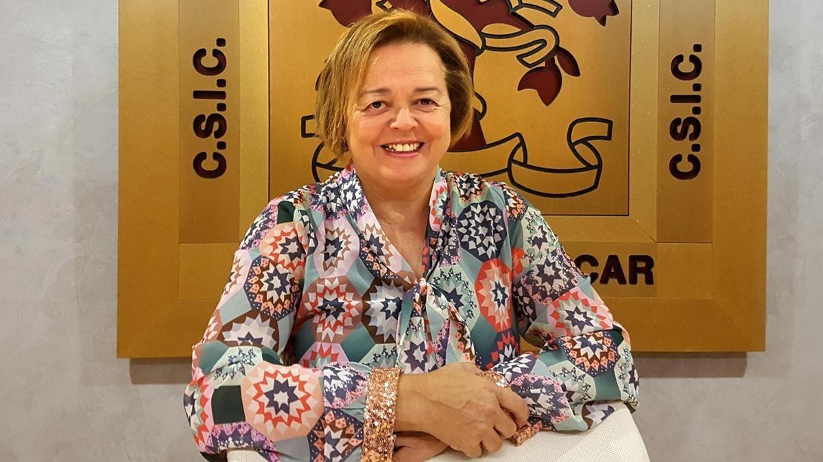 Rosa Menéndez, nueva presidenta del Consejo Superior de Investigaciones Científicas (CSIC).