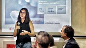 Samantha López, fundadora de RheoDx