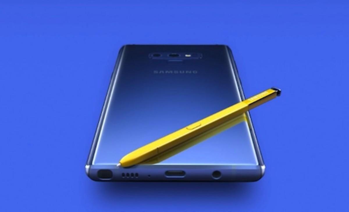Samsung pone a la venta su Note9.