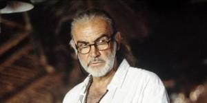 Sean Connery en una secuencia del filme 'En los últimos días del eden'.