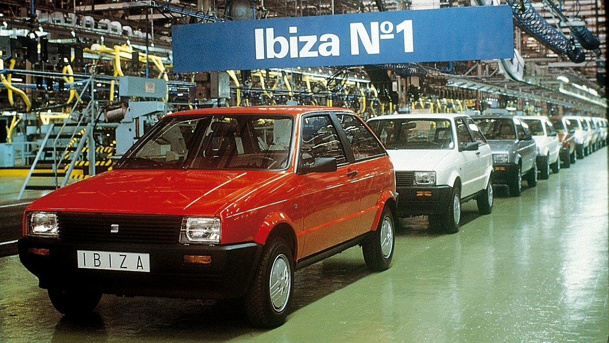 El Seat Ibiza fa 35 anys