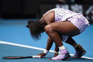 Serena fue eliminada del Abierto de Australia.