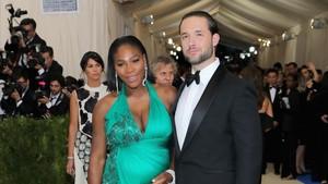 Serena Williams y su marido, Alexis Ohanian, en una imagen reciente.