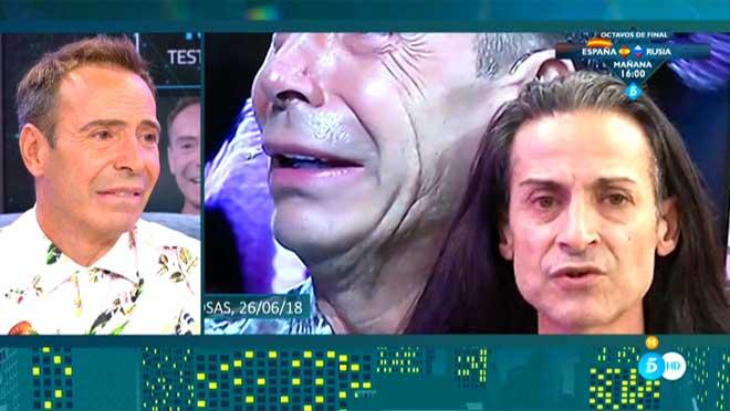 Los videntes Joao y Sandro Rey (T-5).