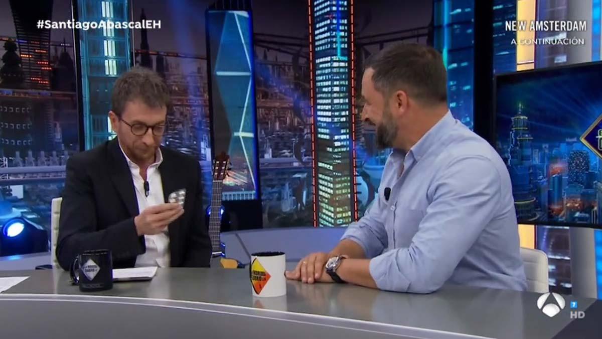 Santiago Abascal en 'El hormiguero' (A-3 TV).