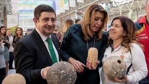 Susana Díaz, durante un acto oficial en Jaén