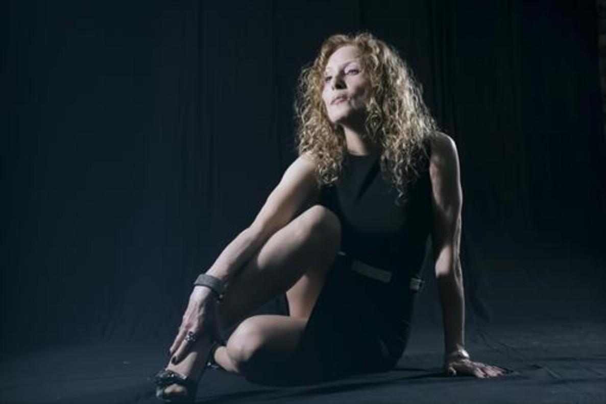 Susana Estrada, en una foto de promoción de su nuevo disco.