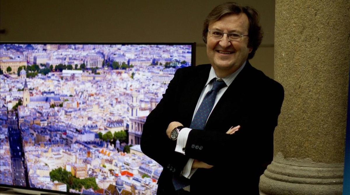 Luis Sahún, director generalde Astra Marketing Ibérica, filial española deloperador de satélites SES.