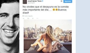 El curioso tuit de buenos días de Josef Ajram.
