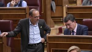 ERC i el PDECat valoren l'oferta de diàleg de Sánchez però mantenen la incògnita sobre el vot