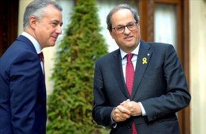 Les absències de Torra i Urkullu ennuvolen la conferència de presidents