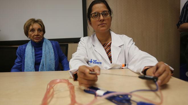 La Vall d'Hebron realitza la primera radiofreqüència d'Espanya en un càncer de pàncrees