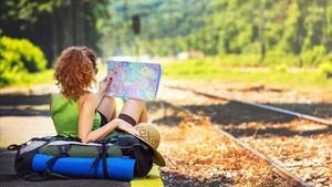 El verano es el momento perfecto para leer libros de viajes.