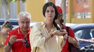 Victoria Federica de Marichalar, en Palma de Mallorca, el pasado mes de agosto.