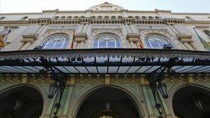 Fachada del Gran Teatre del Liceu.