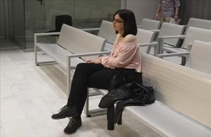 La tuitera Cassandra Vera, en el banquillo de la Audiencia Nacional por presunto enaltecimiento del terrorismo.