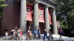 El campus de la Universidad de Harvard, en Cambridge, Massachusetts (Estados Unidos).