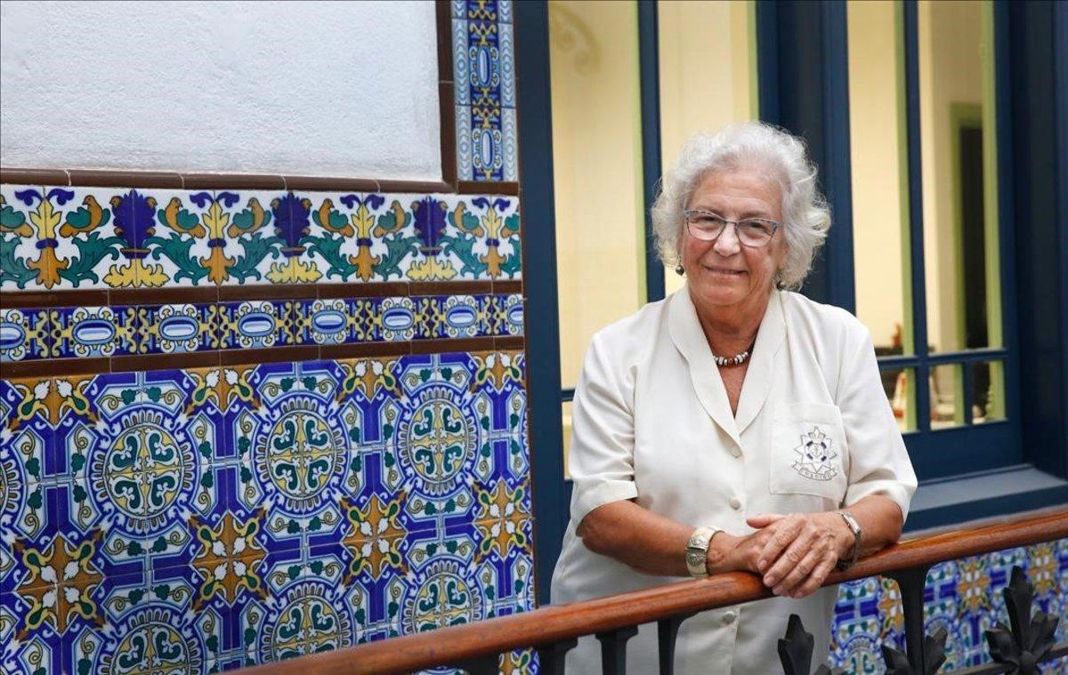 Assumpció Vilà, Síndica de Greuges de Barcelona y defensora de los ciudadanos.