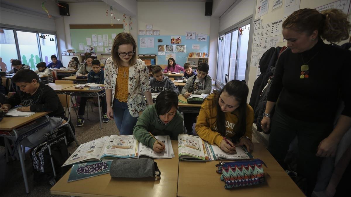 Els docents reclamen més mitjans per ensenyar anglès