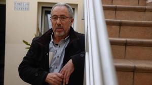 Vicente Sánchez, en su casa de Sabadell.