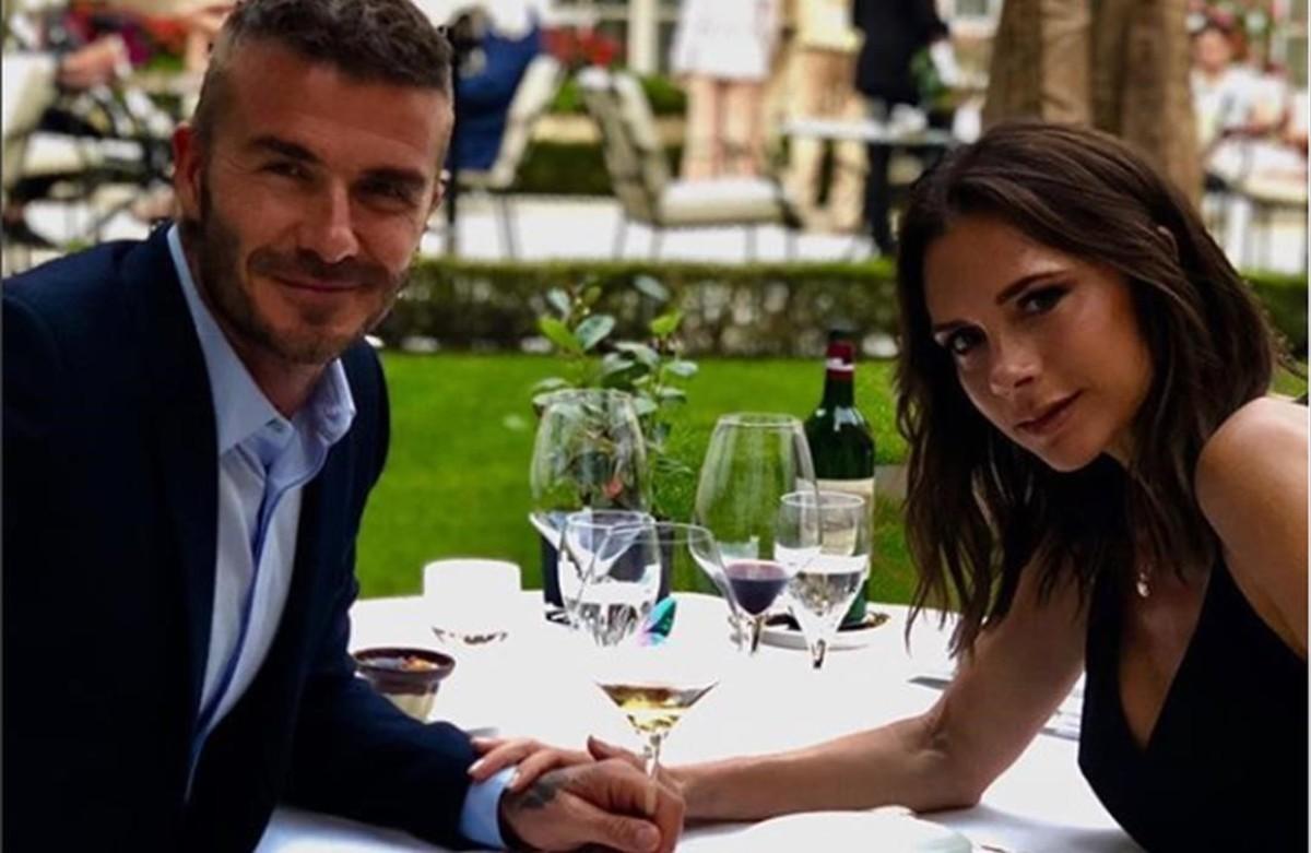 David i Victoria Beckham brinden pels seus 19 anys de matrimoni